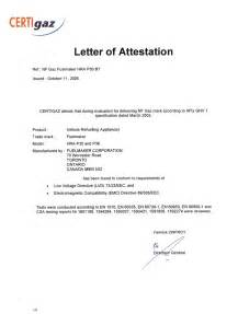 Attestation Letter Exles Letter Format 187 Attestation Letter Format Cover Letter And Resume Sles