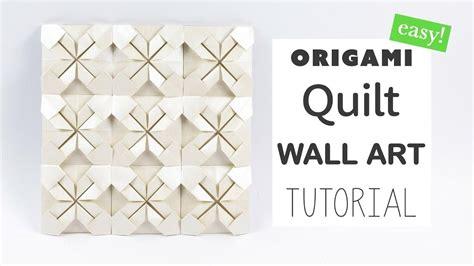 origami art tutorial 20 inspirations diy origami wall art wall art ideas
