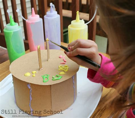 craft cake paint cake decorating still