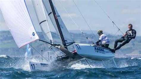 scheveningen catamaran wereldtitel formule 18 catamaran zeilen in ierland gaat