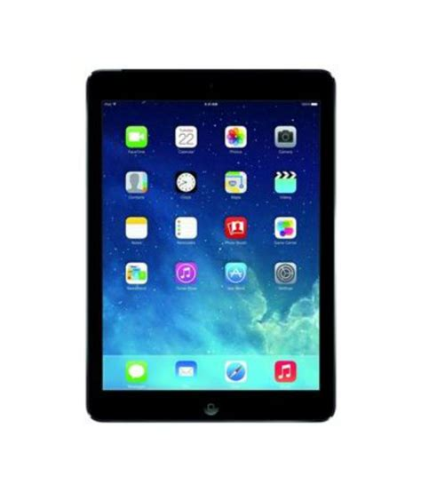 apple ipad air gb  wifi space grey tablets