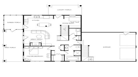 open floor house plans with wrap around porch log home plans with open floor plans log home plans with