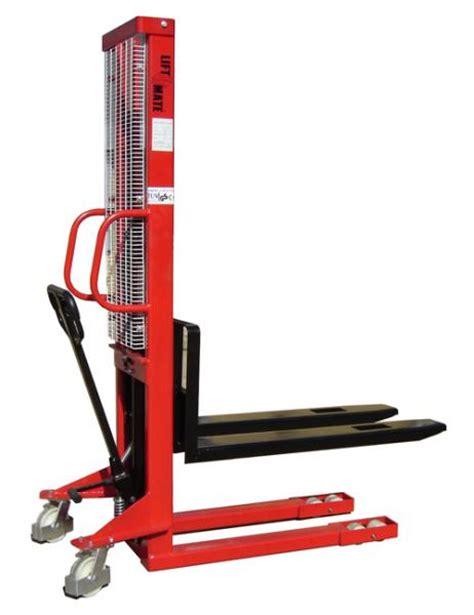 Liftrer Stacker Manual 1000 hydraulic pallet stacker liftmate co uk