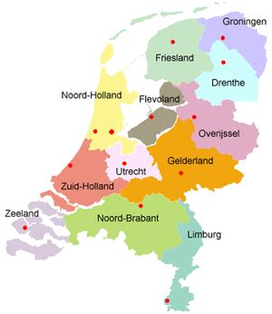 netherlands map of provinces provinces of the netherlands netherlands tourism