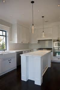 modern kitchen island lights west 4th renovation featuring niche modern bell jar