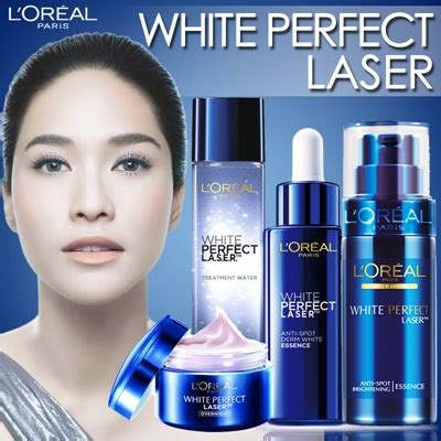 L Oreal White Laser Serum language