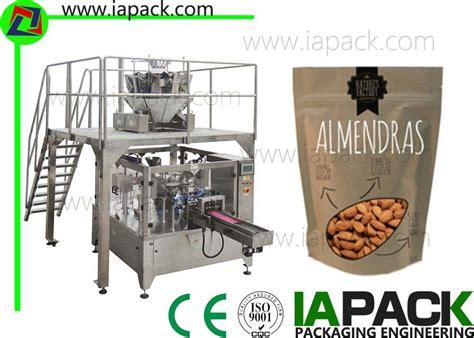 kacang potongan gandum packing machine form fill