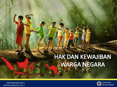 Salemba Empat Hak Dan Kewajiban hak dan kewajiban warga negara indonesia