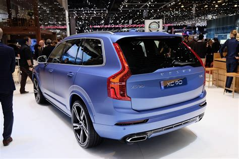 volvo xc90 t8 engine live images from geneva