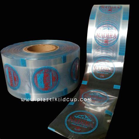 Jual Plastik Kemasan Sablon jual sablon plastik sealer untuk cup air mineral harga