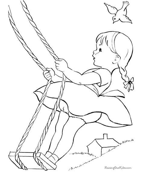 coloring pages kid com coloring page of kid 028