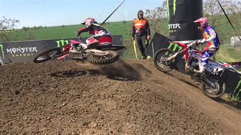 motocross racing video tim gajser owning the motocross tracks scrubbing like a