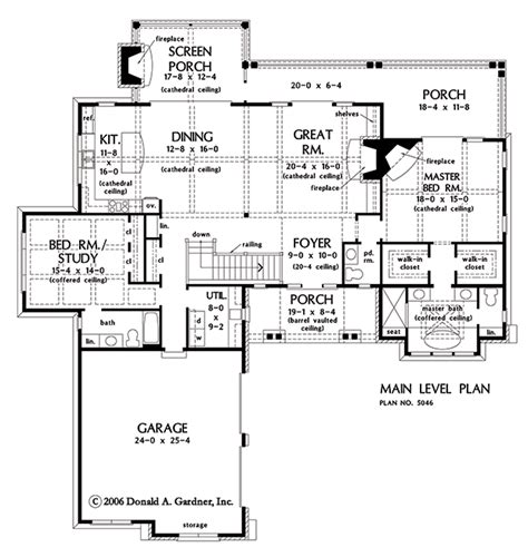 don gardner floor plans onestory archives houseplansblog dongardner com