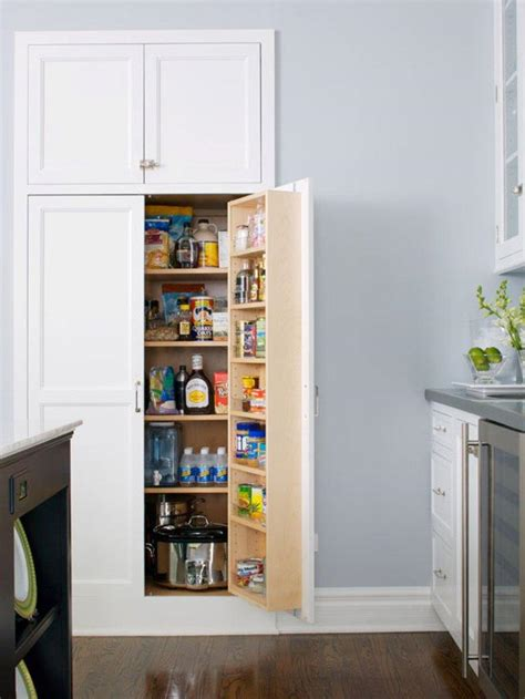 Pantry White by 20 Smart White Kitchen Pantry Cabinets Rilane