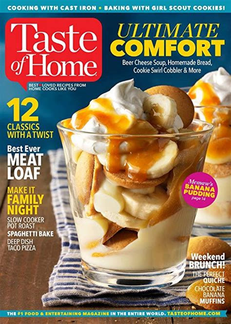 taste of home magazine subscription renewal gifts