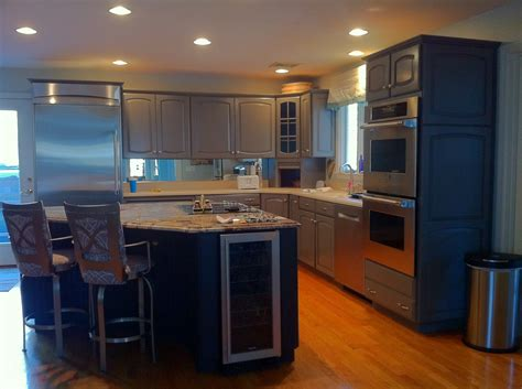 kitchen cabinet refinishing in bridgewater massachusetts