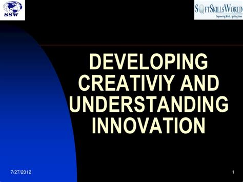 Innovation Mba Ppt by Process Innovation And Leadership Ppt