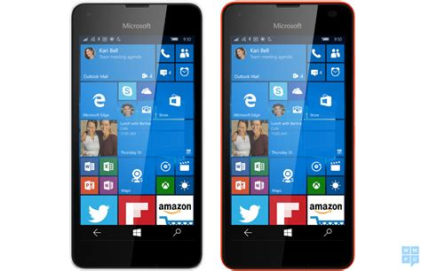 Microsoft Lumia Windows 10 microsoft lumia 550 running windows 10 mobile leaks phonebunch