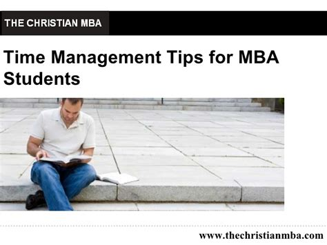 Mba Study Tips by Time Management Tips For Mba Students