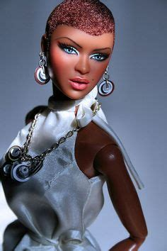 is michelle grace harry african american super mom creates black dolls with natural hair puppen