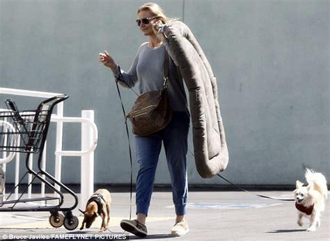 cameron diaz dog cameron diaz takes her dogs on shopping spree at petco