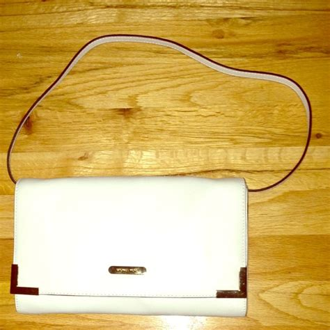 Fossil Bf Offwhite michael michael kors sold mk beverly clutch bag