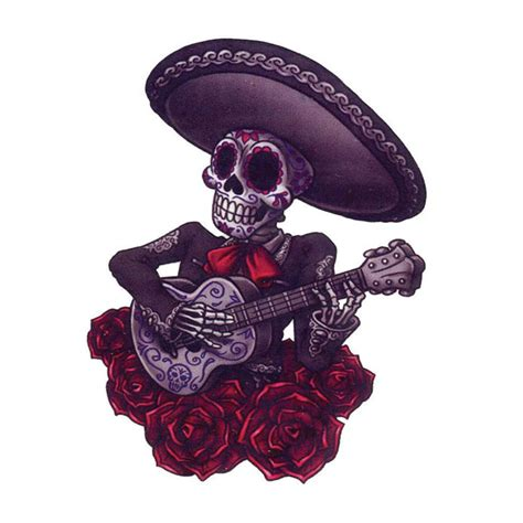 mariachi tattoo day of the dead mariachi fashiontats
