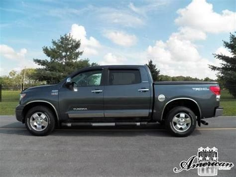 Used Toyota Tundra Crewmax 4x4 For Sale Purchase Used 2007 Toyota Tundra Limited 4x4 Crewmax