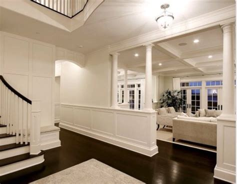 floors white walls living room white
