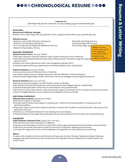 berkeley resume resume writing