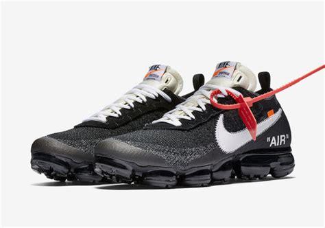 Nike X White Vapormax The Ten white x nike the ten collection drops on snkrs tomorrow kicksonfire