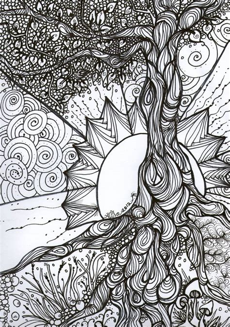 coloring book dream catcher the tree of life google