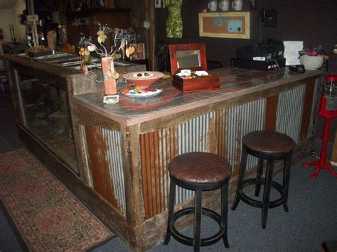 kitchen bar top ideas rusted corrugated metal with a concrete top could bring texture to backyard bbq area http