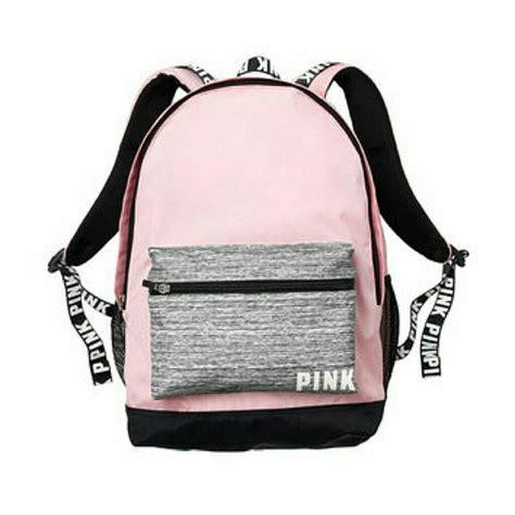 42 pink s secret bags vs pink collegiate backpack poshmark