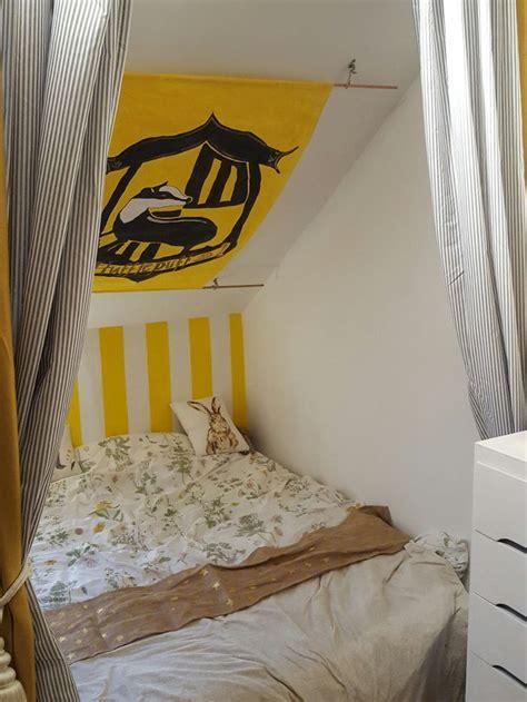 hufflepuff bed hufflepuff bedroom harry potter room