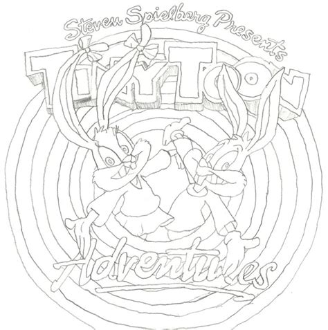 tiny toons coloring pages az coloring pages