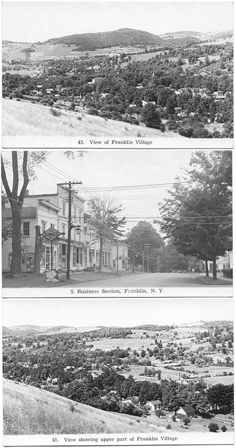 Postcards from Franklin - Delaware County NY Genealogy and ...