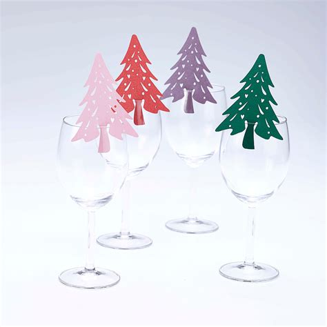 christmas decoration wine glass glass of red wine and
