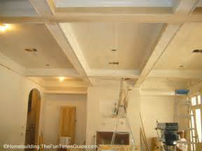 ceiling styles great room wood coffered ceiling fun times guide to home building remodeling