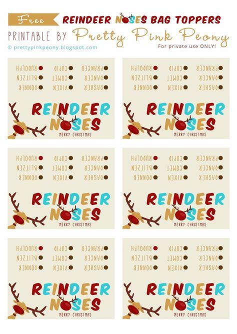 printable reindeer noses reindeer noses printable scribd rockin around the