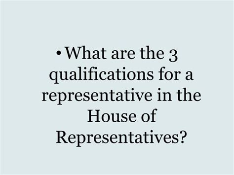 qualifications for house of representatives ppt constitution review i powerpoint presentation id 1749835