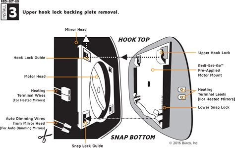 power folding mirror wiring diagram for toyota wiring