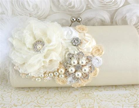 Another Etsy Find The Satin Rolled Clutch by Clutch Handbag Purse Wedding Bridal Of The