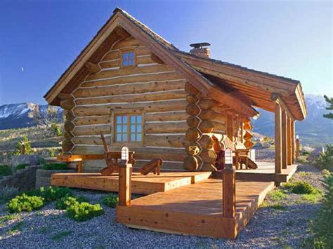how to montana favorite small log cabin kits how to