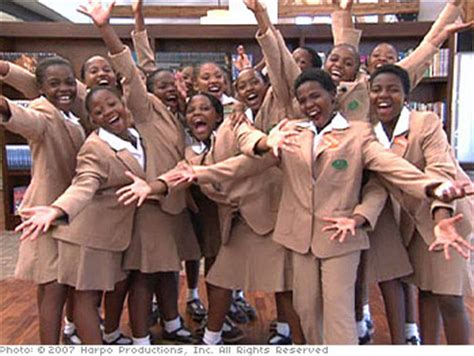 Oprah Opens Second School In Africa by Oprah S School Allegedly Utilizes Solitary Confinement