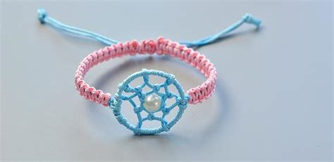 dream catcher friendship bracelet fun family crafts