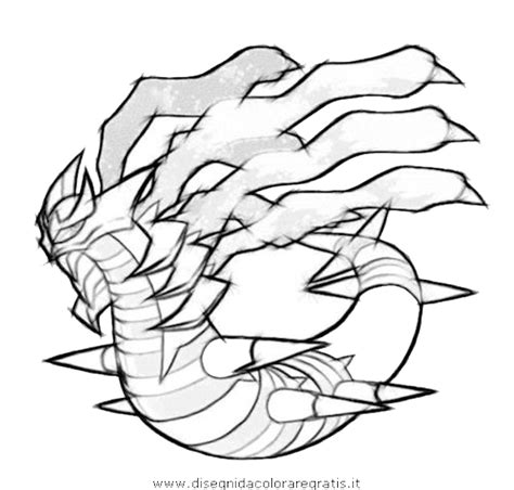 pokemon coloring pages giratina free coloring pages of pokemon giratia