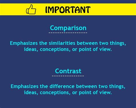 Comparison And Contrast Essay Subjects by Contrast Essay Definition How To Write Block Method