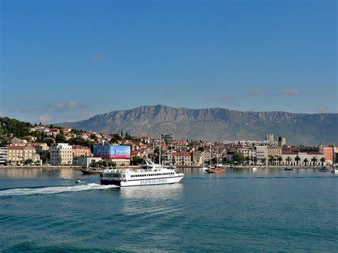 catamaran ferry split to hvar split to hvar