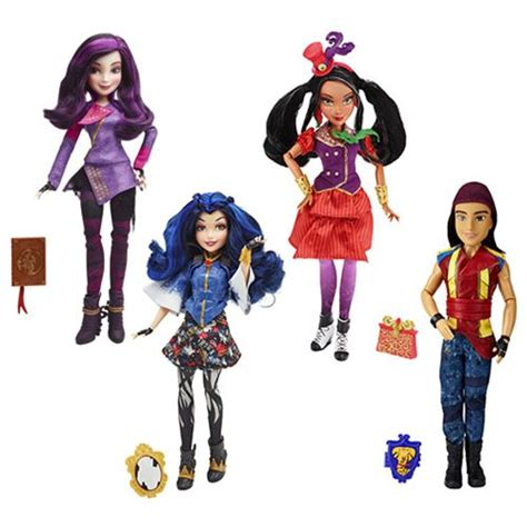 Dress Della Dc disney descendants villain signature dolls wave 2 hasbro